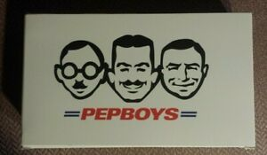 Pep Boys Bobbleheads Set of 3 - New in Box