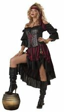 California Costumes Womens Pirate Wench Adult, Black/Burgundy XL X-Large
