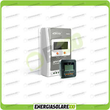 Kit Regolatore di Carica Epsolar Tracer Serie A 30A 12-24V 100Voc con Display MT