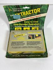 Vintage 1984 New Sawyer The Extractor Complete Bite Sting First Aid Kit