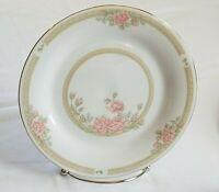 "Christina Salad Plates 7-1/2"" CROWN MING Jian Shiang Pink Mint, set of FOUR 4"