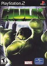 THE HULK PS2 PLAYSTATION 2 DISC ONLY