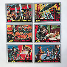 MARS ATTACKS! HERITAGE Topps 2012 SINGLE SILVER PARALLEL CARD - U PICK FROM LIST