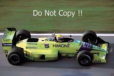 Roberto Moreno Coloni FC188B Brazilian Grand Prix 1989 Photograph 1