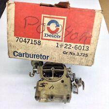 NOS ROCHESTER 2GV CARBURETOR 7041061 1970-1971 PONTIAC 350-400-455 ENGINE