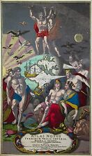 Atlas Novus Terrarum Orbis Imperia..- Titelseite - J. B. Homann - 1720