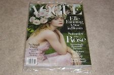 ELLE FANNING * A STAR IN BLOOM June 2017 VOGUE MAGAZINE NEW * PARTIALLY SEALED