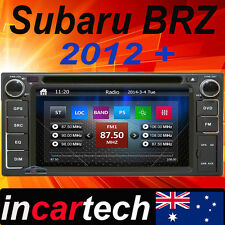 Subaru BRZ 12 13 14 15 Head Unit GPS Sat Nav Car Radio Stereo DVD Bluetooth Aus