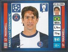 PANINI UEFA CHAMPIONS LEAGUE 2013-14- #183-PARIS SAINT-GERMAIN-MAXWELL
