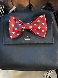 kate spade new york Disney Minnie Mouse Small Neema Backpack - Black (PXRU8273)