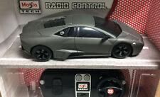 Lamborghini Reventon Radio remote control car grey  1:24 Maisto Tech