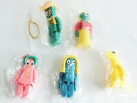Kubrick Gumby Western Gumba Goo Minga Prickle figure Medicom Toy 5 set Japan F/S