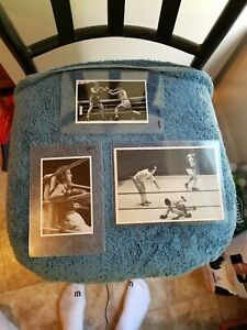 VINTAGE  ORIGINAL 1936 LOT OF (3) GERMAN OLYMPICS BOXING CARDS EX/MT