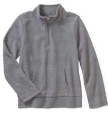 New Danskin Girls' Grey Microfleece Pullover: Sz XS (4-5)