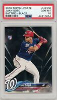 Juan Soto 2018 Topps Update Black RC #38/67 PSA 10 Gem Mint -Pop5-
