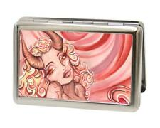 Hell's Angel Sexy Ink Girls Buckle Down Metal Business ID Credit Card Holder New