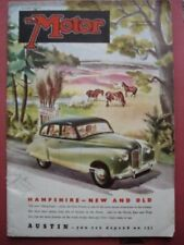 Illustrated Weekly Motor Magazines