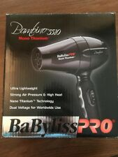 Babyliss Pro Bambino 5510 Nano Titanium Dual Voltage 1000 Watt Hair Dryer