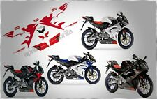 APRILIA RACING RS 50 RS125 LION HEAD 2006 - 2012 COMPLETE GRAPHIC DECALS KIT