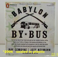 Babylon By Bus Audiobook by Ray Lemoine 2006 American occupied Baghdad Friends