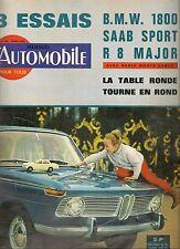 L'AUTOMOBILE 215 1964 COOPER BMW 1800 SAAB 96 SPORT R8 MAJOR FIAT ABARTH 595 SS
