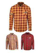 NBA Basketball Team Logo Mens Long Sleeve Flannel Shirt - Pick Your Team!