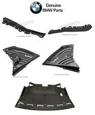 BMW E65 E66 745i 745Li GENUINE Front Center Left and Right Undercar Shield KIT