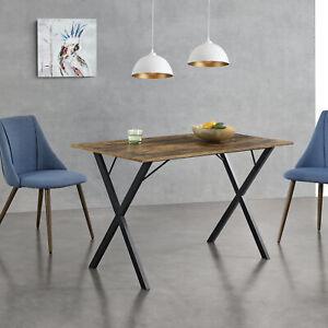 [en.casa] Esstisch Küchentisch Esszimmertisch Speisetisch Tisch 120x60x75cm Holz