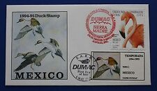 Mexico (MX02) 1994 Mexico Duck Stamp FDC