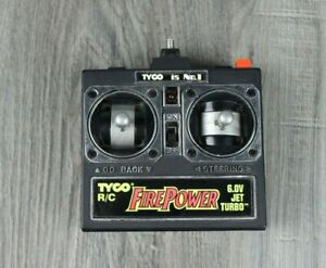 Vintage TYCO Firepower RC Car Remote Control For Missile Attack Truck 49MHz 6v
