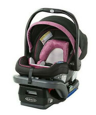Graco Snugride Snuglock 35 Dlx Infant Car Seat Rear Facing - Joslyn Pink