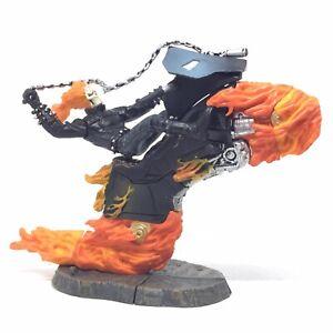 RARE ToyBiz Marvel Heroes Ghost Rider Action Figure Statue Build Factory Vintage