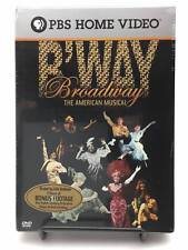 Broadway: The American Musical (DVD, 2004, 3-Disc Set) Sealed! Brand New