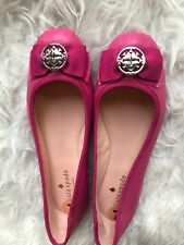 NEW KATE SPADE FONTANA TOO BALLET FLATS SHOES FLAT PINK LEATHER 7