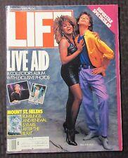 1985 Sept LIFE Magazine FN 6.0 Live Aid / Mick Jagger & Tina Turner / Madonna