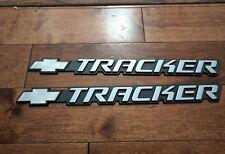 2000's Chevrolet Tracker Genuine Side Emblems ( pair )