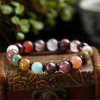 1pcs Red Crystal Treasure Gemstone bracelet Fancy pray energy mala Buddhism