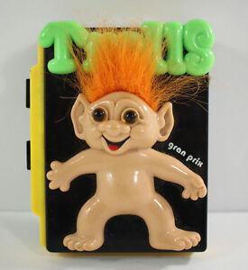 Vintage Grand Prix Troll Doll Cassette Player Unique Rare Collectible 1980's