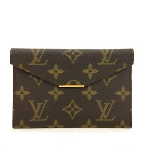 Vintage Authentic Louis Vuitton Monogram Wallet /71153