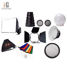 Flash Gun Adapter Kit Flash Accessories K8 For Canon Nikon Vivitar Sony Nissin
