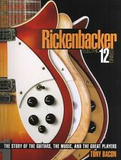 Rickenbacker Electric 12-String History Story Music & Great Players Guitar Book