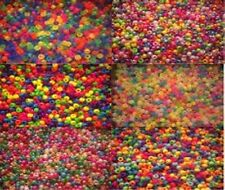 3900 Pony Beads Bundle 13 packs x 300 Mixed Bead,IDEAL FOR DUMMY CLIPS,BRACELETS