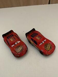 Disney Pixar Cars Burnt & Soaked McQueen Toons Diecast 1:55 Bundle