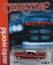"`58 Plymouth Fury "" CHRISTINE "" 1958 ***RR*** JL 2017  Auto World 1:64"