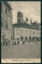 Pisa Montopoli Val d'Arno cartolina QQ3246