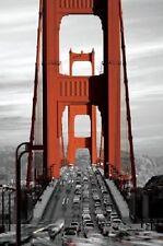 "Golden Gate Bridge San Francisco photography poster 24x36"""