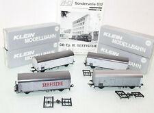 M+D H0 012 Kühlwagen-Set 4tlg. Seefische der DB neuwertig in OVP GL136