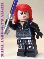 LEGO STAR WARS JEDI MARA JADE SKYWALKER LUKE WIFE 100% LEGO EXPANDED UNIVERSE