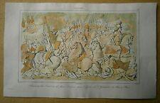 1840 print BAS-RELIEF ON TOMB OF JOHN II CASIMIR VASA, KING OF POLAND (#29)