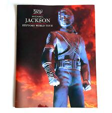 MICHAEL JACKSON History World Tour 1996 JAPAN CONCERT PROGRAM BOOK n